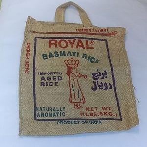 Handbags - Burlap rice sacks hand bags